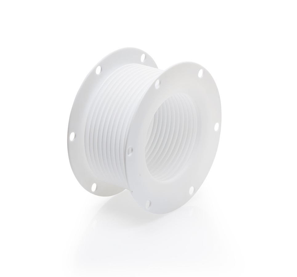 Machined ptfe bellows double flange